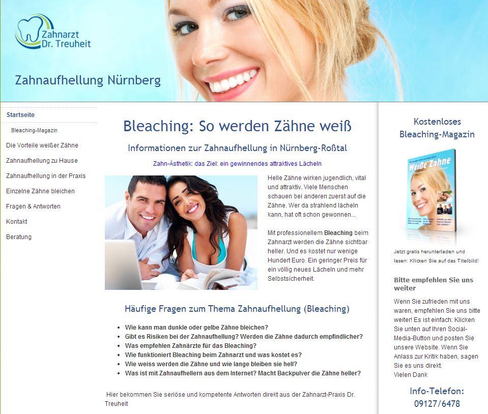 Zahnarzt Dr. Treuheit | Zahnaufhellung