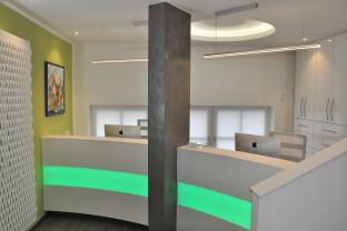 Praxisumbau & neue Rezeption | Zahnarztpraxis Dr. Treuheit